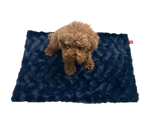 Blanket, Bella Navy Blue Small