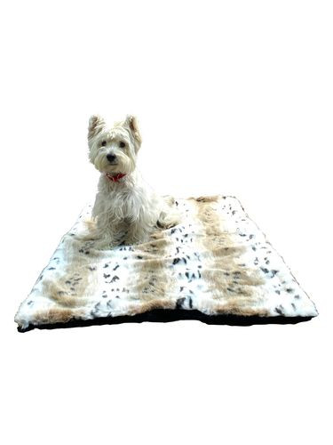Medium Magic Mat, Snow Linx Plush