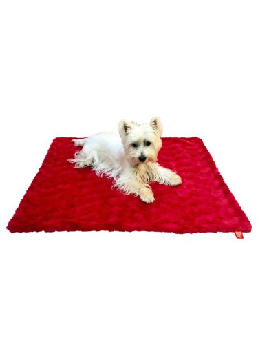 Blanket, Bella Red Medium