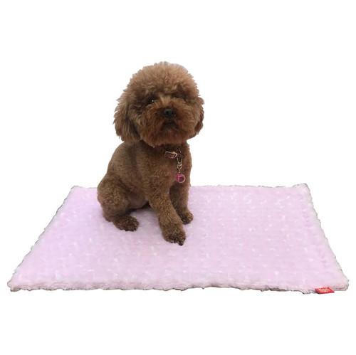 Small Blanket, Pink Rosebud