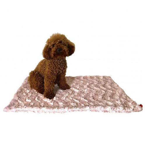 Blanket, Bella Blush Pink Square