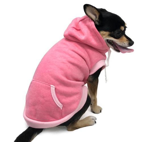 Drawstring Hoodie Pink