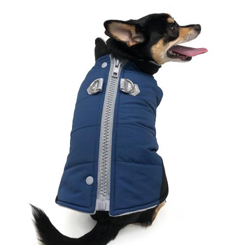 Urban Runner Coat Blue