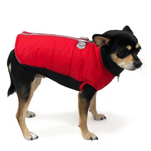 Urban Runner Coat Red