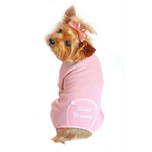 Pajamas Sweet Dreams Embroidered - Pink