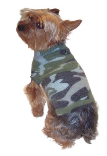 Vintage Camoflage Sweater, Olive