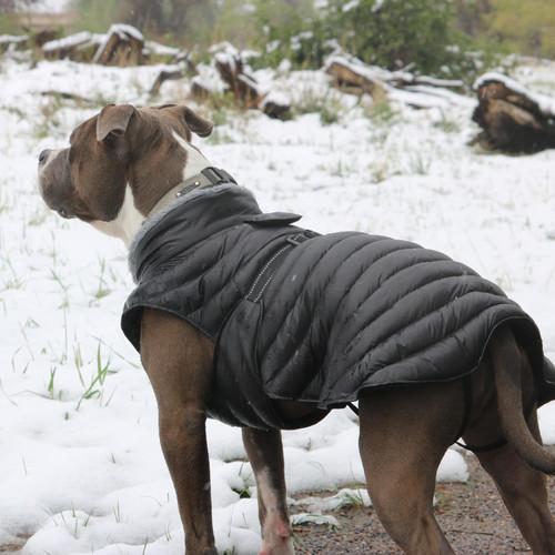 Alpine Puffer Coat BLACK