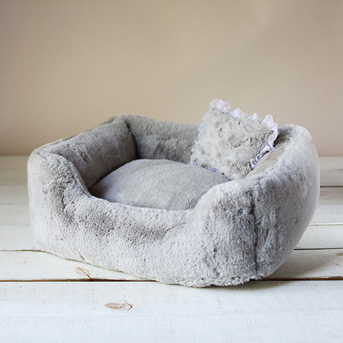 The Divine Dog Bed: Dove Grey