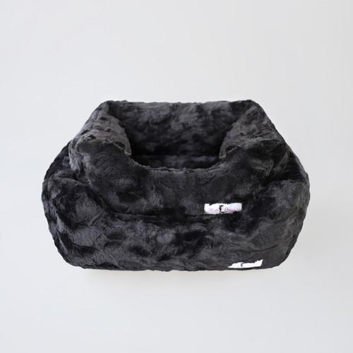 Bella Dog Bed: Black