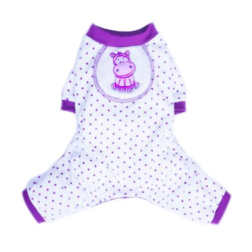 Hippo Pajamas - Purple