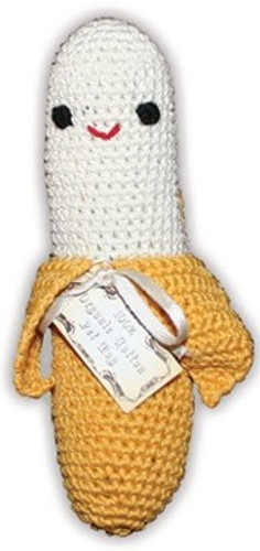 Fruit - Knit Knacks - Organic Cotton Crocheted Toys - Chiquito Banano