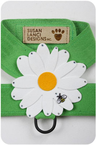 Green Daisy (Large) Harnesses