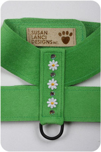 Green Daisy (Small) Harnesses