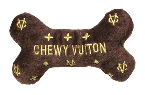 Dog Diggin Designs Chewy Vuiton Bone Toy