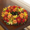 Cremation Wreath Fall