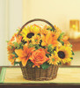 Fields Of Europe For Fall Basket