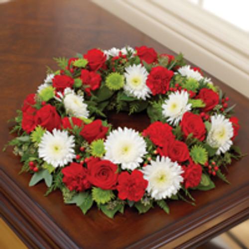 Cremation Wreath Christmas