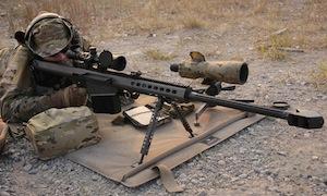 Long range shooting using a Crosstac Shooting Mat