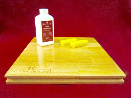 Pure Mineral Oil & Beeswax