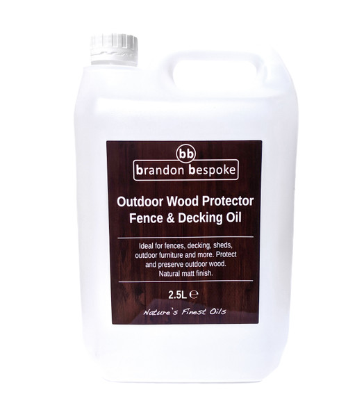 Fence Cladding & Decking Oil
