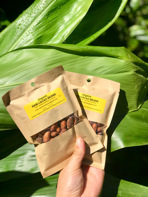 Certified Organic Raw Cacao Beans