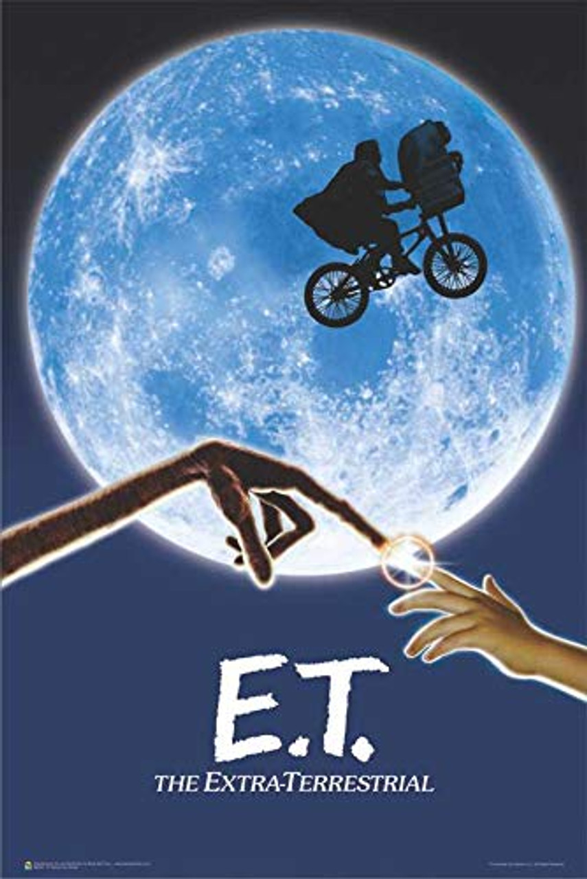 E T The Extra Terrestrial Movie Poster 24 X 36 The Blacklight Zone