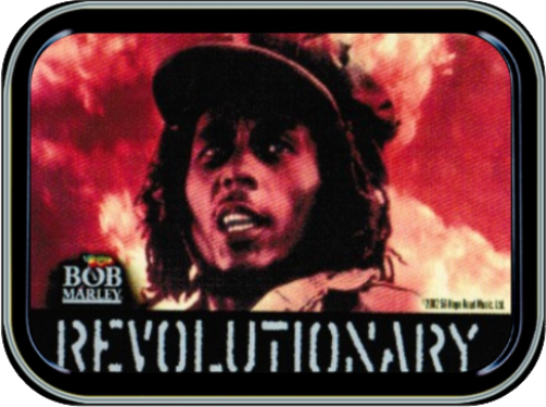 Bob Marley - Revolutionary Stash Tin Storage Container Image
