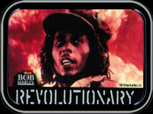 Bob Marley - Revolutionary Stash Tin Storage Container Image