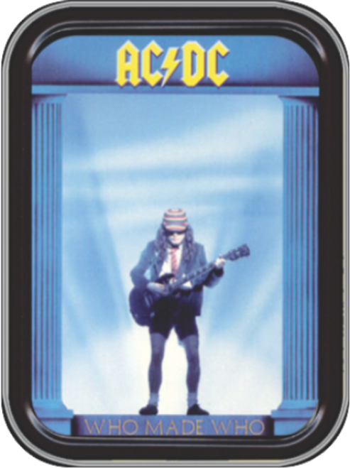 AC/DC Who Made Who Stash Tin Storage Container Image