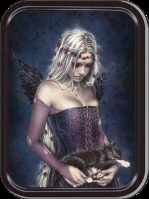 Angel Muerte - Victoria Frances Stash Tin Storage Container Image