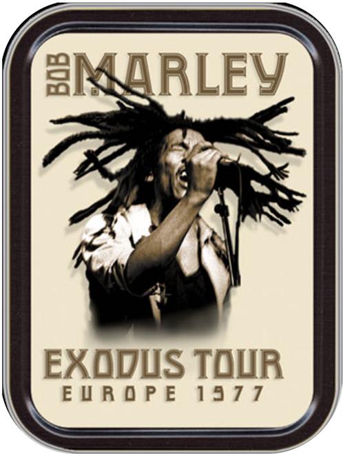 Marley Exodus Stash Tin Storage Container Image