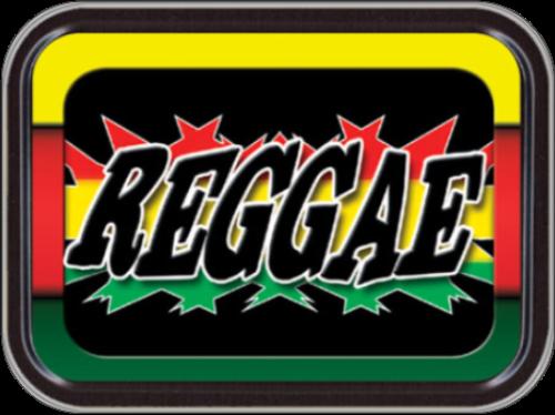 Reggae Stash Tin Storage Container Image