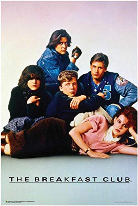 The Breakfast Club Movie Poster Image