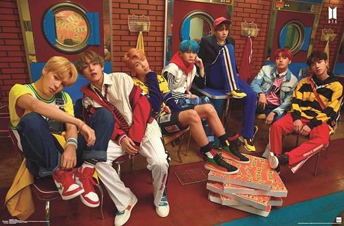 BTS (Bangtan Boys) - Crew Poster Image