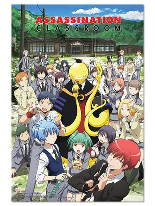 Assassination Classroom Group (Anime) Poster Print (24 x 36)