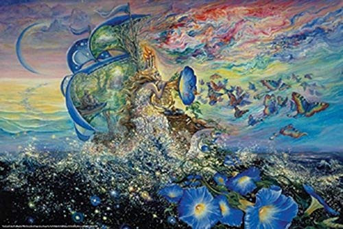 Andromeda's Quest by Josephine Wall Art Poster 24x36