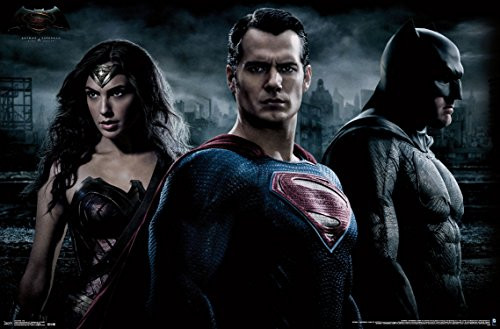"Batman vs Superman Trio Wall Poster 22.375"" x 34"""