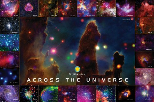 Smithsonian Across The Universe Poster, 36 by 24-Inch