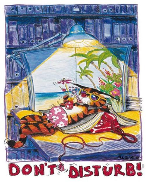 """Don't Disturb by Alex Rinesch 16""""x20"""" Art Print Poster"""