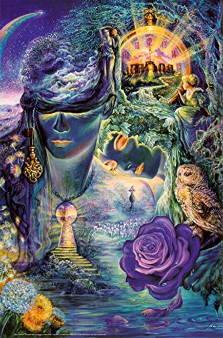 Key To Eternity Poster by Josephine Wall 24 x 36in