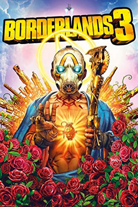 Borderlands 3 - Gaming Poster (Game Cover - Key Art) (Size: 24 x 36 inches)