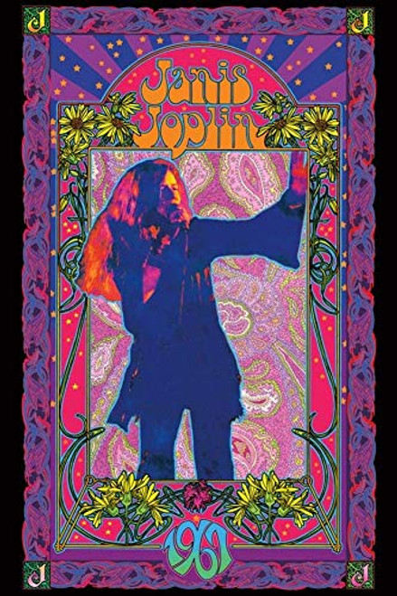 Janis Joplin - 1967 Poster 24 x 36in
