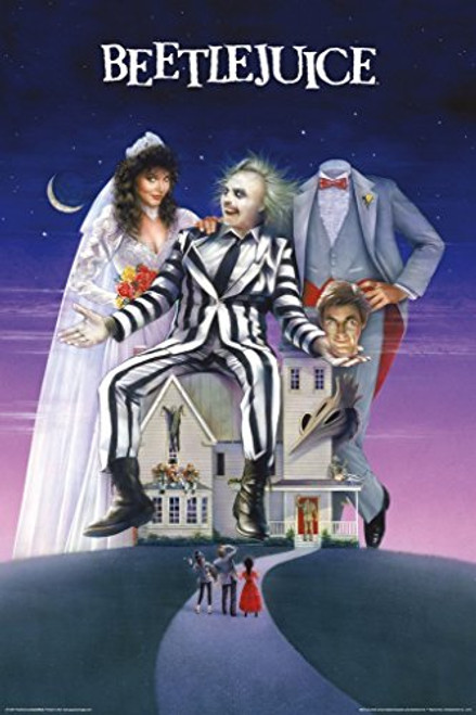 Beetlejuice One Sheet Movie Poster 24 x 36in