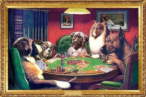 Kelly Poker Decorative Poster 36x24