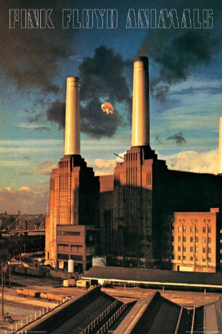 Pink Floyd Animals Poster 24x36