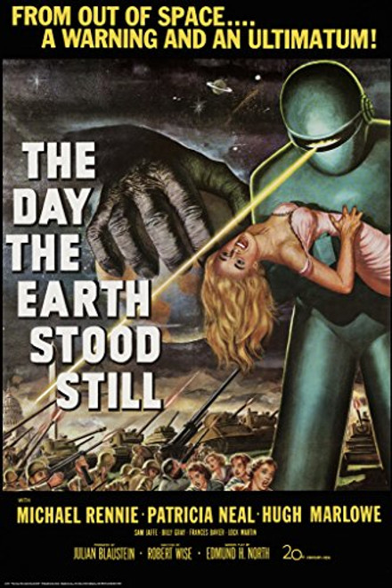 The Day the Earth Stood Still by Robert Wise 1951 Movie Poster 24X36