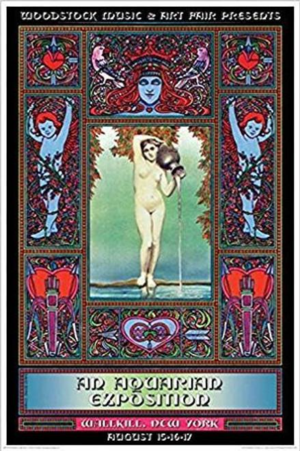 Woodstock Festival Wallkill NY 24x36 Music Poster