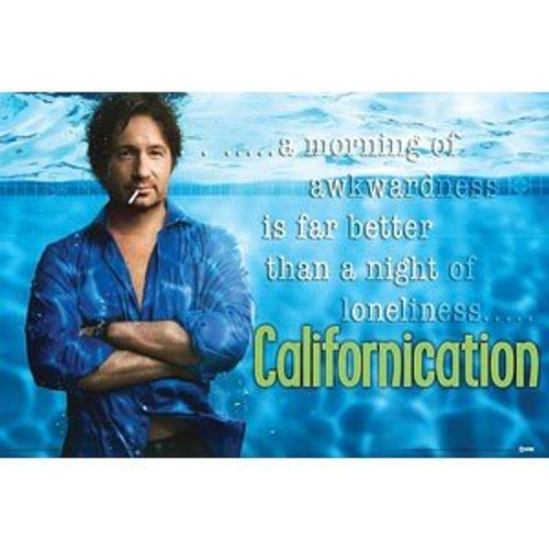 Californication Under Water Showtime TV Series (David Duchovny) Poster Print 24 by 36