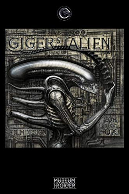 "Giger's Alien by H.R. Giger 24""x36"" Art Print Poster"