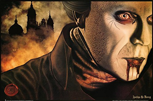 Avelina De Moray (Dracula) Art Poster Print 36 x 24in